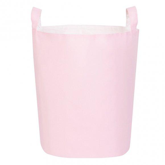 Тканевая корзина Розовая