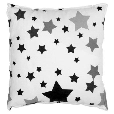 Подушка Черные Звезды