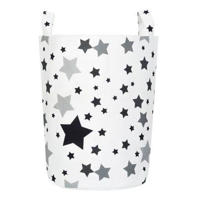 Тканевая корзина Черные Звезды