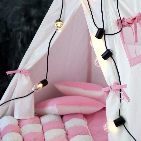 Игровой коврик Бомбон Розовый