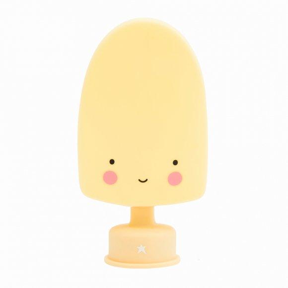 Детский ночник Мороженое на палочке Желтый