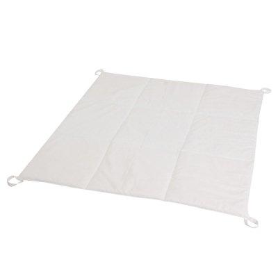 Стеганый коврик для вигвама Белый