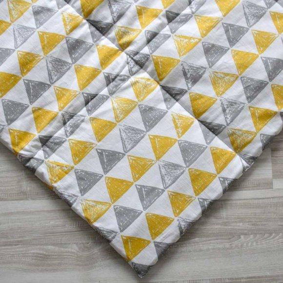 Стеганый коврик для вигвама Треугольники