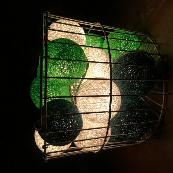 Тайская гирлянда зеленая