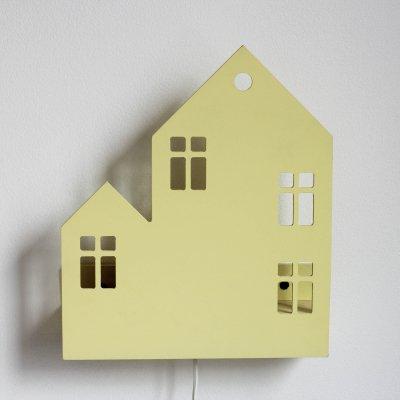 Светильник-домик Lyon желтый
