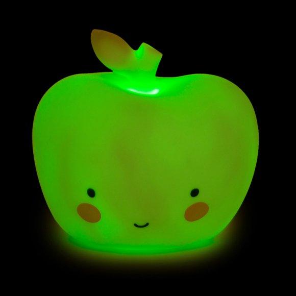 Детский ночник Яблоко Зеленое