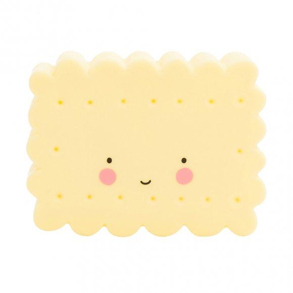 Детский ночник Печенье Желтое