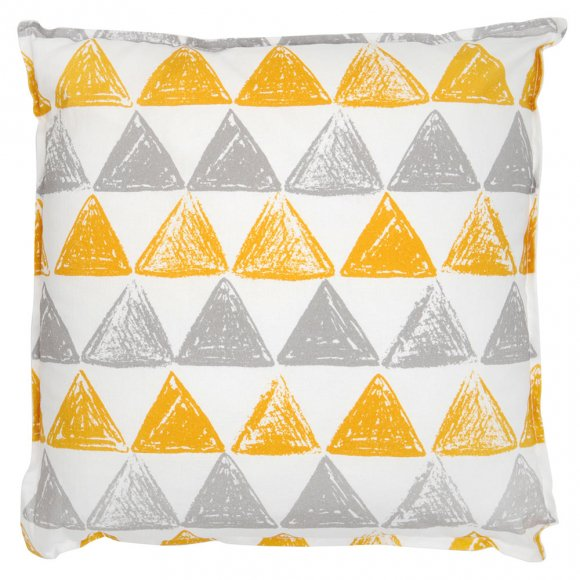Подушка Треугольники