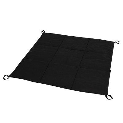 Стеганый коврик для вигвама Черный
