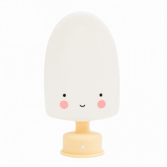 Детский ночник Мороженое на палочке Белый