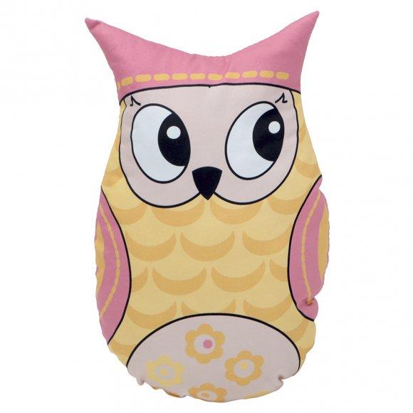 Игрушка-подушка Желтая Сова