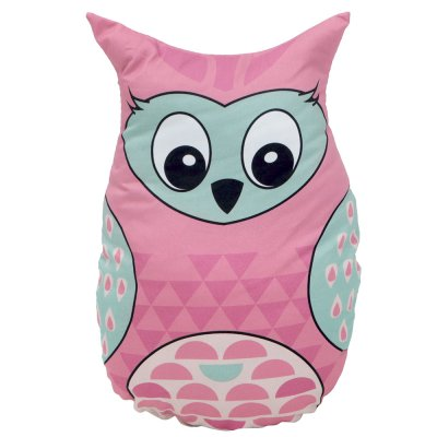 Игрушка-подушка Розовая Сова