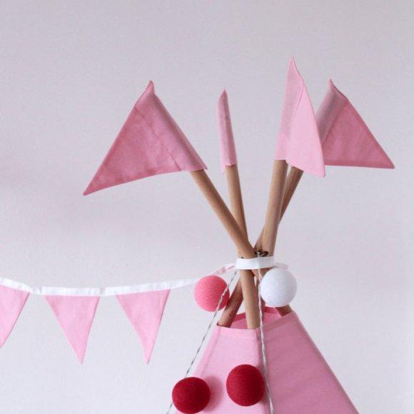 Вигвам Розовый