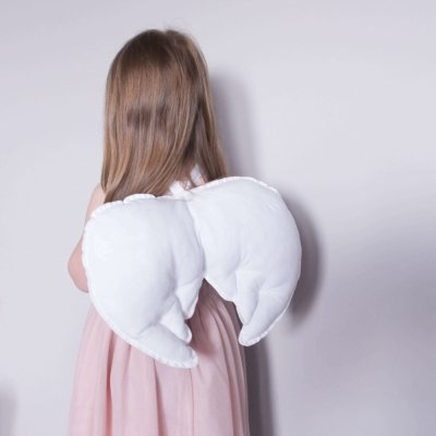 Детские крылья Белые