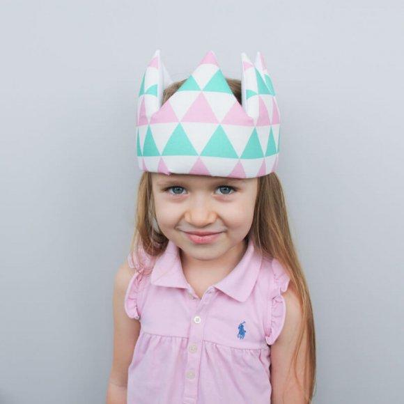 Детская корона Треугольники