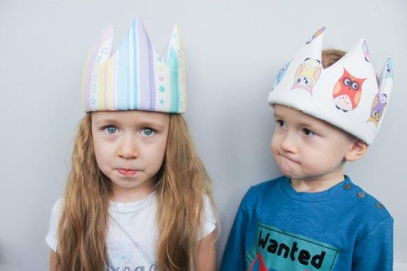 Детская корона Веселые Совы