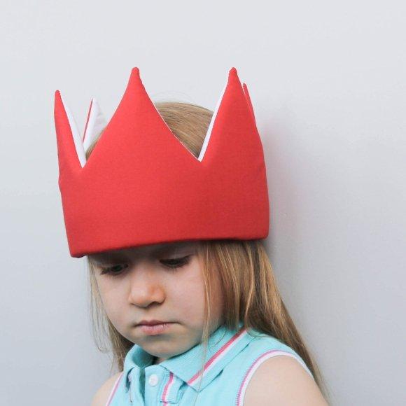 Детская корона Красная