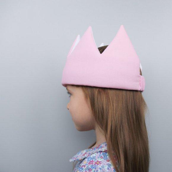 Детская корона Розовая