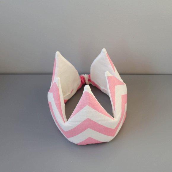 Корона Розовый Зигзаг