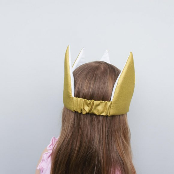 Детская корона Золотая