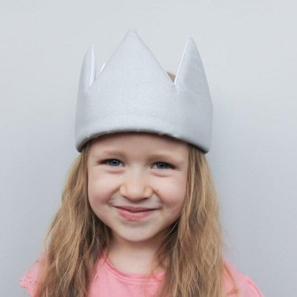 Детская корона Серебряная