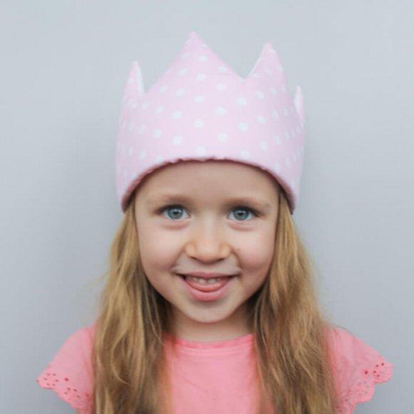 Корона Polka Pink