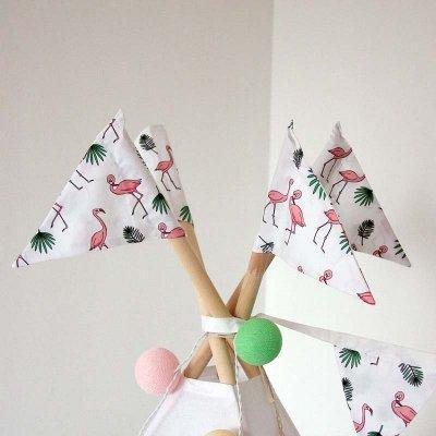Флажки Фламинго