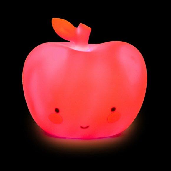 Детский ночник Яблоко Красное
