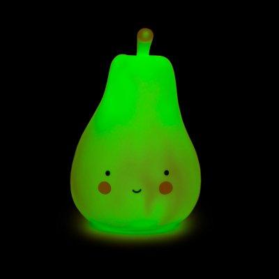 Детский ночник Груша Зеленая