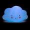 Детский ночник Облако Голубое