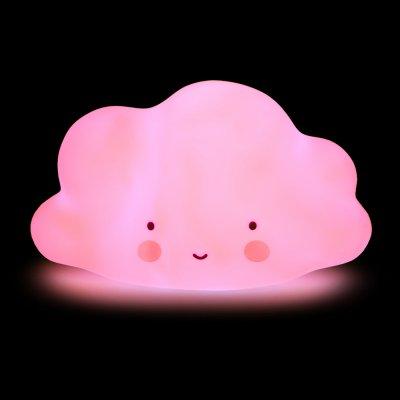 Детский ночник Облако Розовое