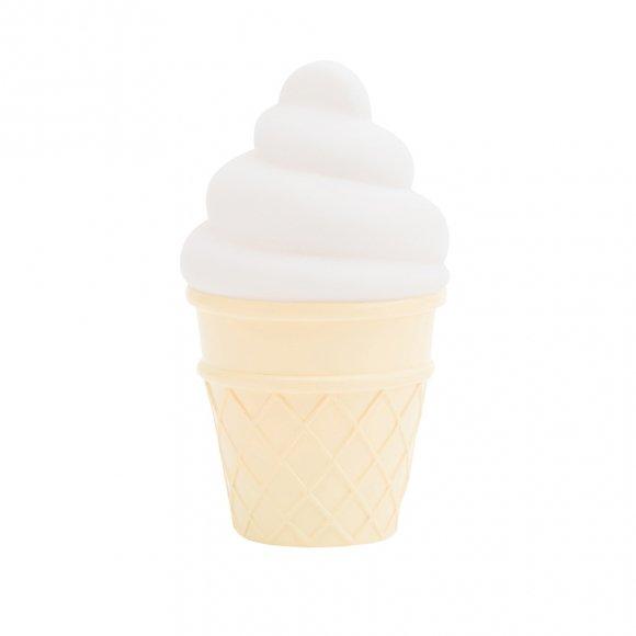 Детский ночник Мороженое Белое