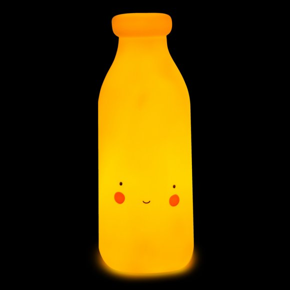 Детский ночник Молоко Желтый