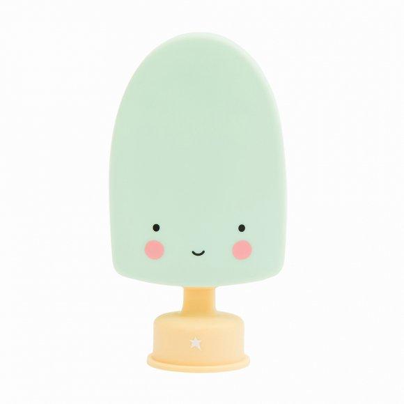 Детский ночник Мороженое на палочке Мятное