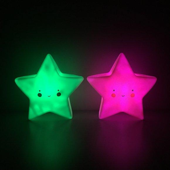 Детский ночник Звезда Мятный