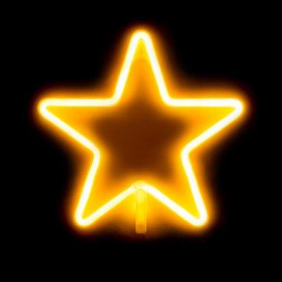 Неоновый ночник Звезда