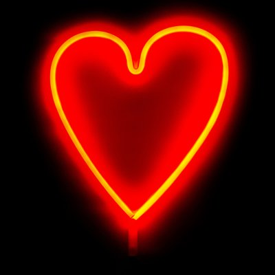 Неоновый ночник Сердце
