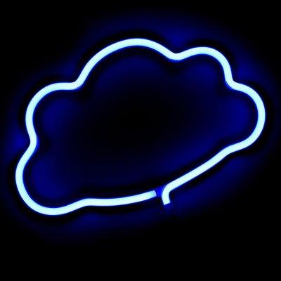 Неоновый ночник Cloud от розетки