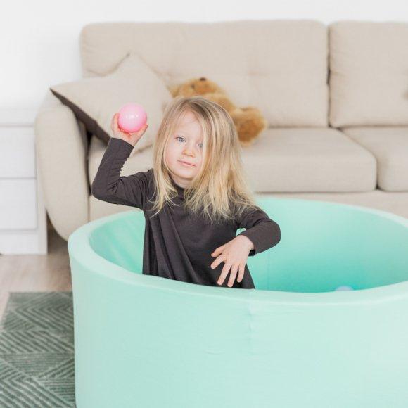 Детский сухой бассейн бирюзового цвета