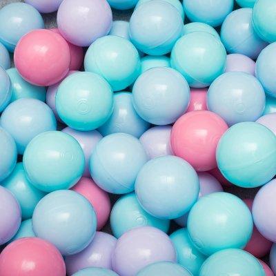 Сет из 200 шаров для детского сухого бассейна Пастель