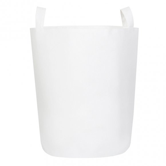 Тканевая корзина Белая
