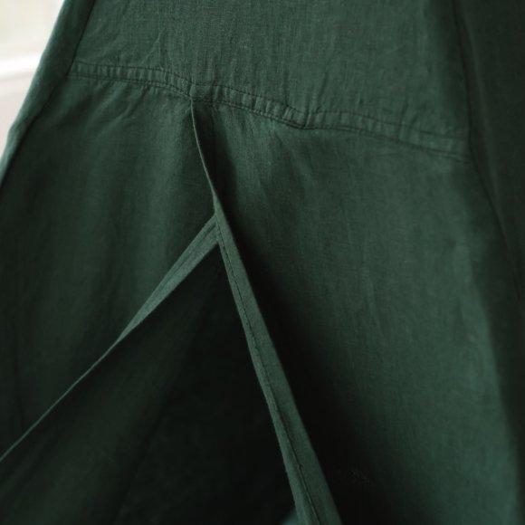 Вигвам из зеленого льна