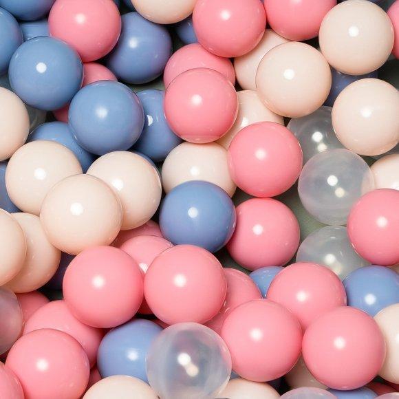 Детский сухой бассейн цвета ПУДРА