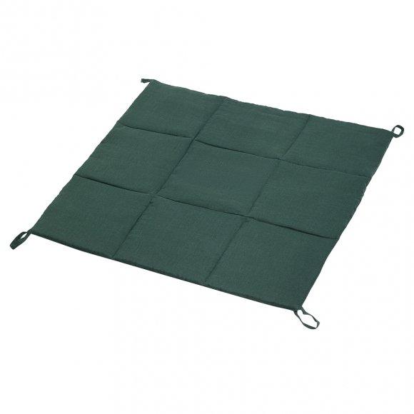 Стеганый коврик для Вигвама из Зеленого льна