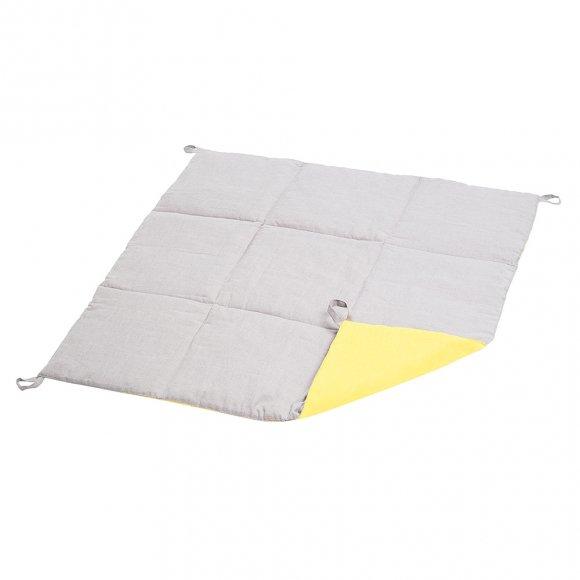 Стеганый коврик для вигвама из Серого Льна