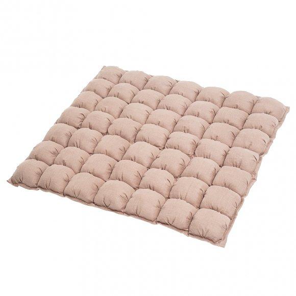 Игровой коврик Бомбон из Розового Льна