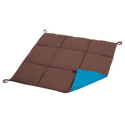 Стеганый коврик из Шоколадного Льна